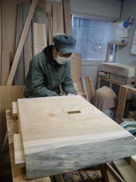 こだわりの木工作家との出会い