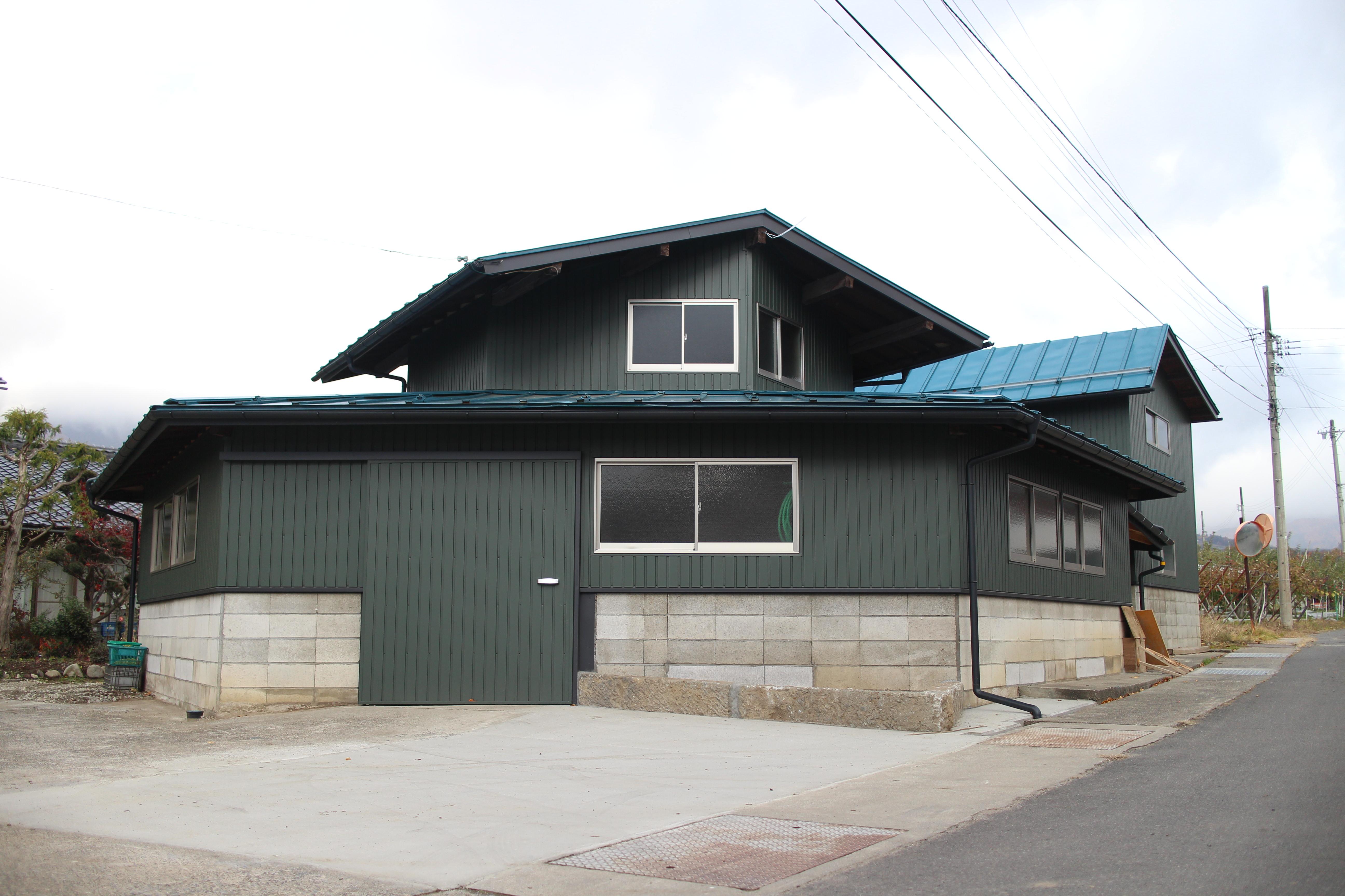 六角形の倉庫