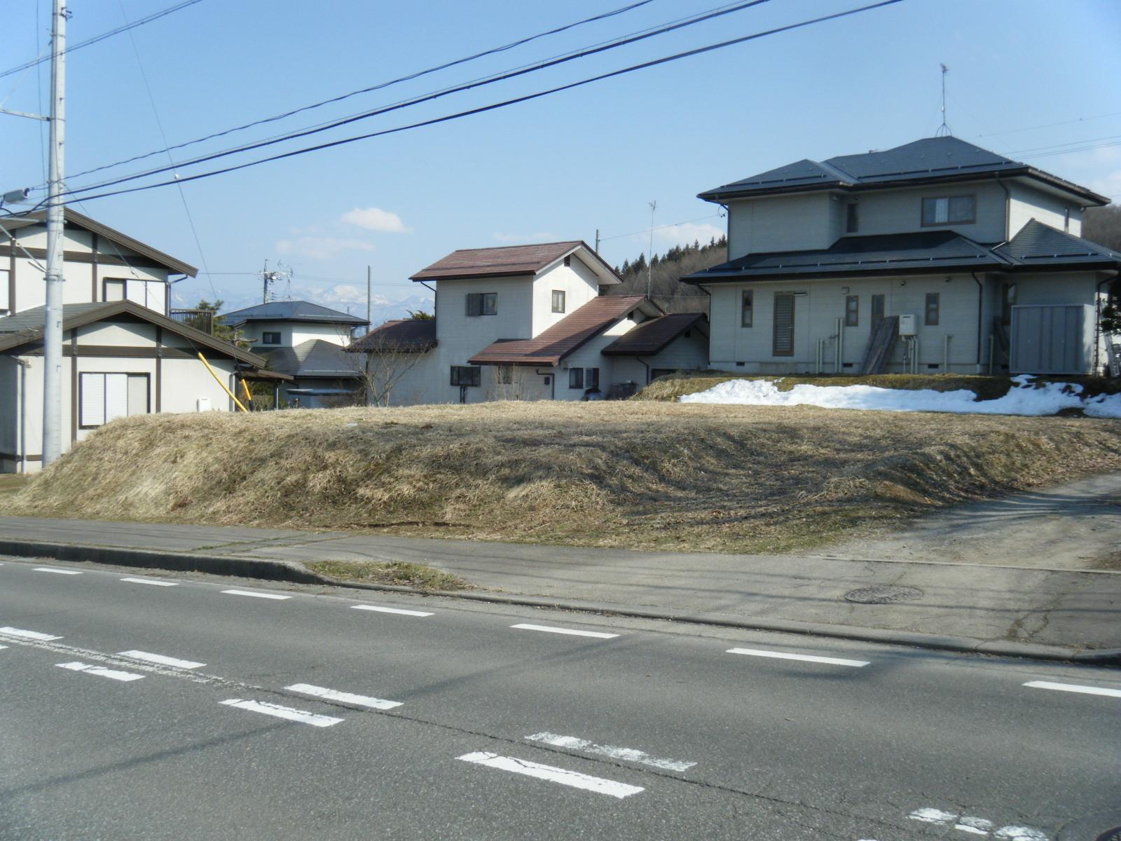 福井団地ひまわり通り沿い売土地