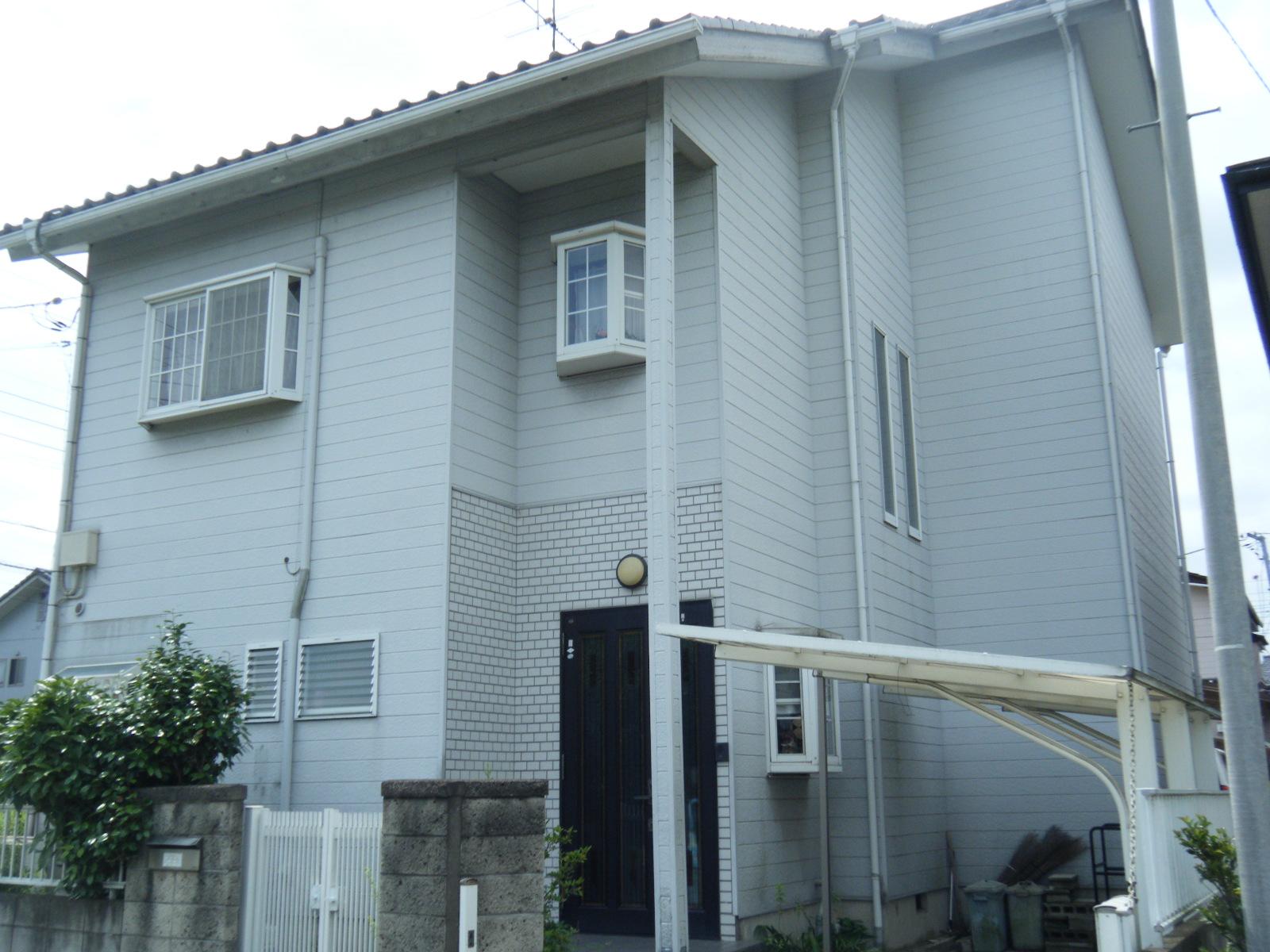 茨城県カーポート付き戸建住宅