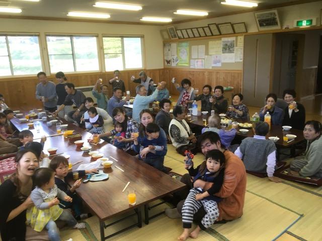 北川地区 筍パーティー