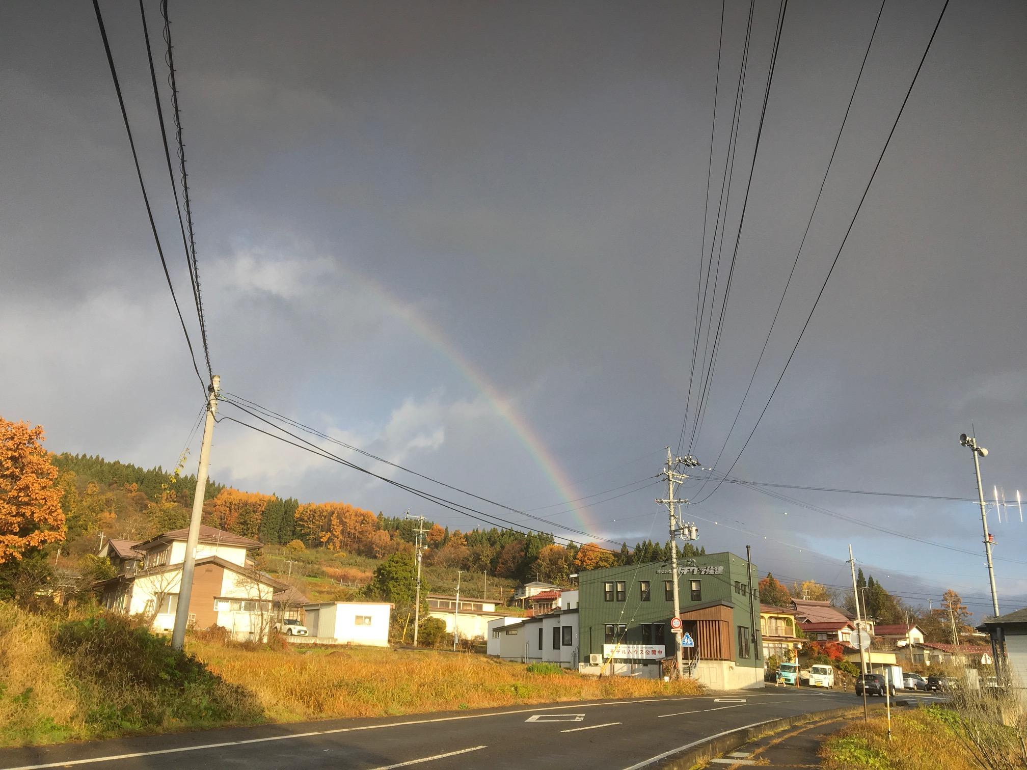 虹に出会える町 飯綱町