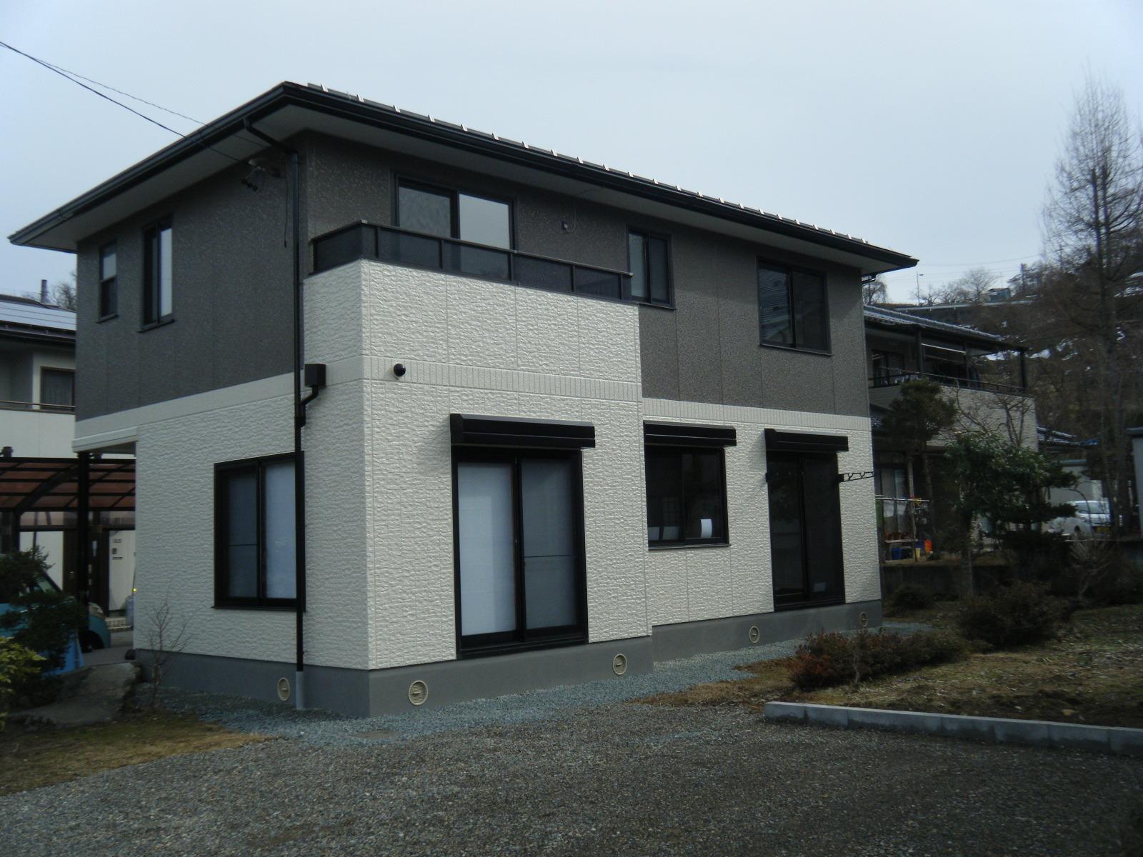 ジンギスカン街道近く信州新町リフォーム済戸建